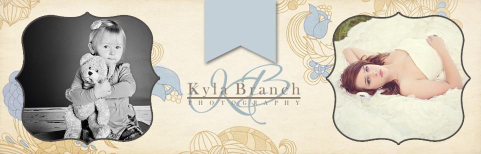 Rayville, LA Wedding, Children, & Senior Photography | Kyla Branch Photography {the blog} logo